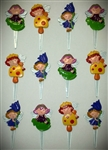 Fairy Girls Cupcake Picks - 12 Pack