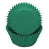 Dark Green Baking Cups - 100 Count