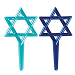 Star of David Cupcake Picks - 6 Pack