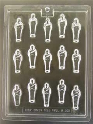 Bite Size Mummies Chocolate Mold