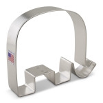 "3-5/8"" GOP Elephant Cookie Cutter"
