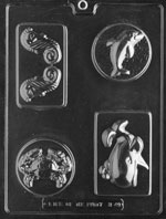 Sea Creatures Bar Chocolate Mold