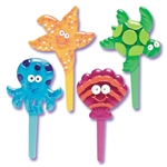Seashore Jewel Puffy Picks - 6 Pack