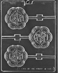 Happy Mother's Day Lolly Chocolate Mold