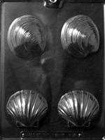 Large Shells Chocolate Mold - LPN056