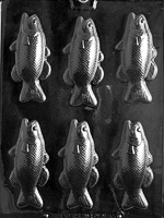 Bass Fish Bars Chocolate Mold