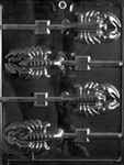 Lobster Lollipop Chocolate Mold