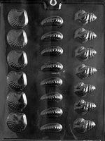 Bite Size Shells Chocolate Mold