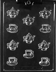 Bite Size Teapots & Teacups Chocolate Mold
