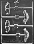 Mustache Assortment Lolly Chocolate Mold