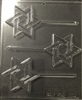 Star of David Sucker Chocolate Mold