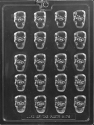 Bite Size Skull Chocolate Mold