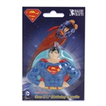 Superman Birthday Candle