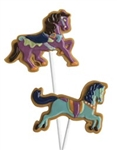 Carousel Horses Pops Chocolate Mold