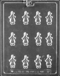 Easter Bunny Decos Chocolate Mold - LPE480