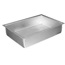 "Magic Line Aluminum Cake Pan 14"" x 22"" x 3"""