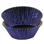 Blue Foil Baking Cups - 500 Count