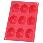 The Essentials Madeleine Pan Silicone Bakeware cookie baking