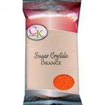Orange Sugar Crystals - 1 Pound