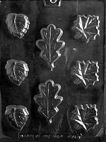 Leaf Assortment Soap/Chocolate Mold