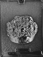 Basket of Daisies Chocolate Mold