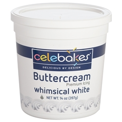 White Buttercream PHO Free Icing - 14 Ounce