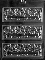 Last Supper Bar Chocolate Mold Religious R022