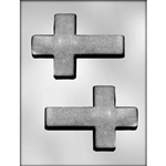 "5-1/4"" Cross Chocolate Mold communion baptism religious"