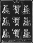 Baby Bunny Chocolate Mold shower easter animal
