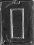 Plain Greeting Card Chocolate Mold