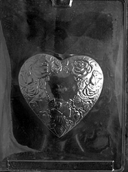 Heart Shaped Chocolate Mold wedding valentine anniversary mother V117