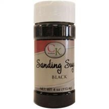 Black Sanding Sugar - 4 Ounce