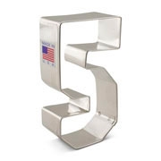 "Cookie Cutter 3-1/2"" Number 5"