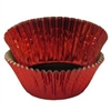 Red Foil Baking Cups - 500 Count Pack