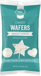 Make'n Mold Bright White Vanilla Flavored Candy Melts - 12 Ounce Bag