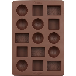 Patterned Silicone Chocolate Mold