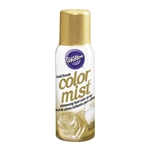 Shimmering Gold Color Mist Food Spray