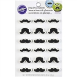 Mustache Icing Decorations