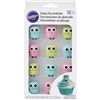 Owls Royal Icing Decorations - 12 Pack