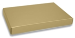 Gold Lustre 1 Pound Box Lids - 50 Pack