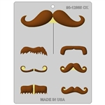 Mustache Styles Assortment Mold