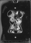 3D Mouse Chocolate Mold - Front