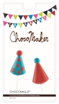 Birthday Hats Pops Chocolate Mold