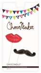 Lips & Mustache Pops Chocolate Mold