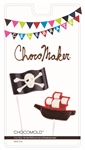 Pirate Flag & Ship Pops Chocolate Mold