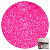 Hot Pink Techno Glitter