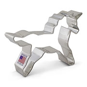 "4-1/2"" Unicorn Body Cookie Cutter"