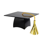 Black Graduation Cap Layon