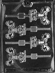 Moose Lolly Chocolate Mold - LPA038