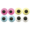 "Royal Icing Assorted Colored 1/4"" Eyes"
